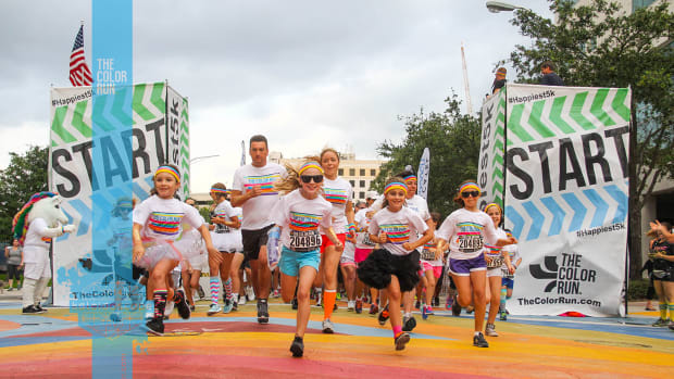 Color Runner Family