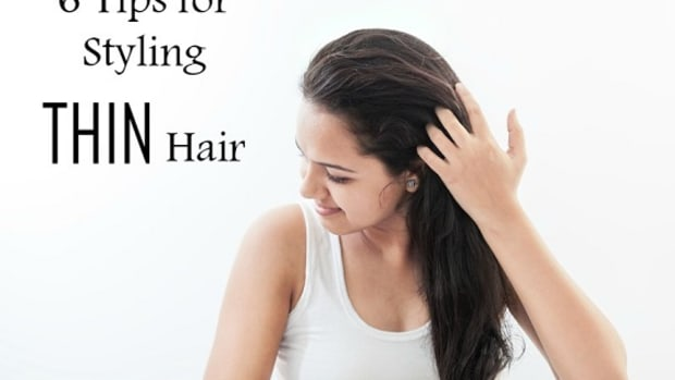 6 tips for styling thin hair