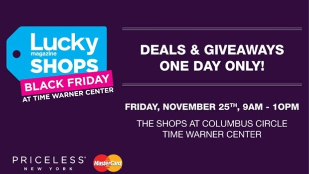 Lucky Shops Black Friday Deals at Time Warner Center