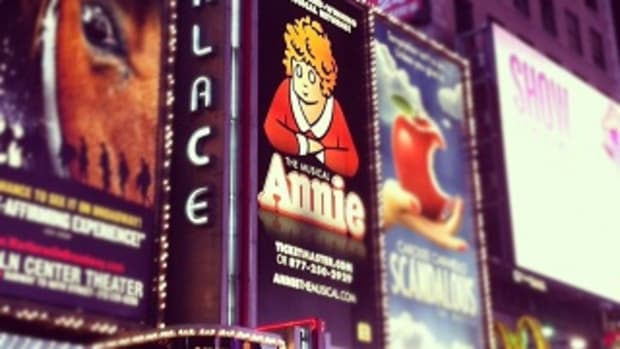 Annie the Musical at the Palace Theatre