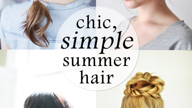 chic easy summer hair