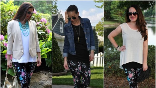 Three Stylish Mamas Lysse Floral Leggings