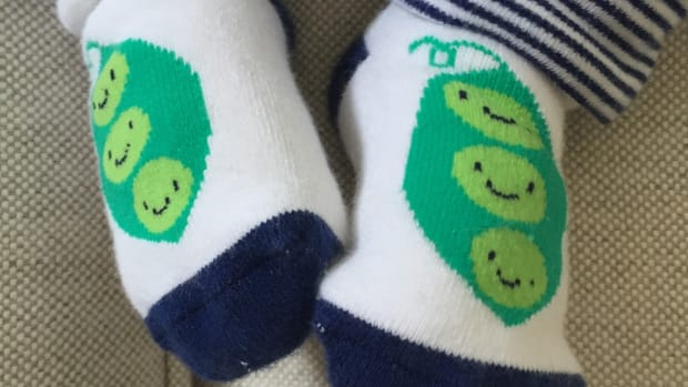Gymboree Pea Pod Socks