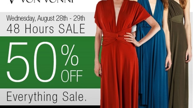 Von Vonni 50% Off Site-Wide Sale!