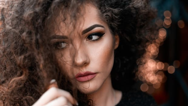 managing curly hair