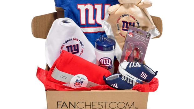 ny giants baby fanchest