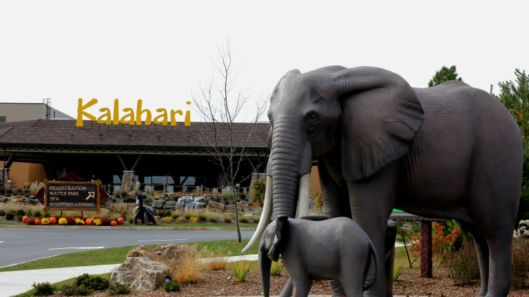 Adventures at Kalahari Waterpark & Resort in the Poconos Mountains