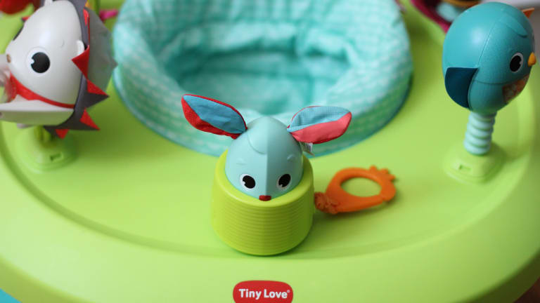 Introducing the New 4-in-1 Here I Grow™ Mobile Activity Center from Tiny Love®
