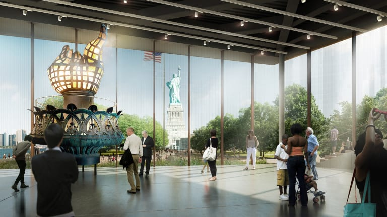 Lady Liberty Gets a New Museum
