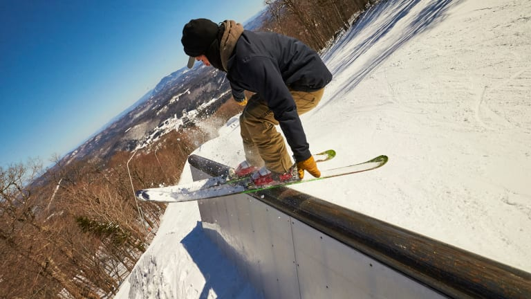Okemo Debuts Halfpipe to Complement Four Terrain Parks