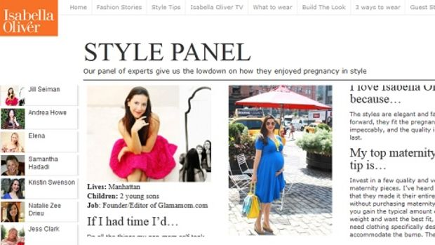 Isabella Oliver Style Panel