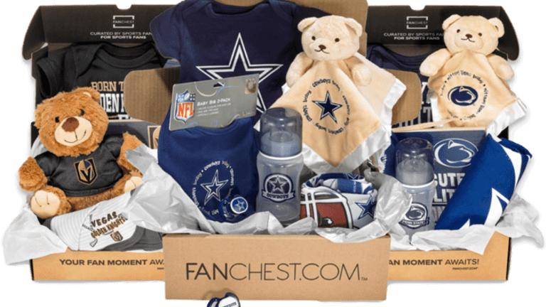 The Best Baby Shower Gift for the Ultimate Sports Fan: Baby FANCHEST