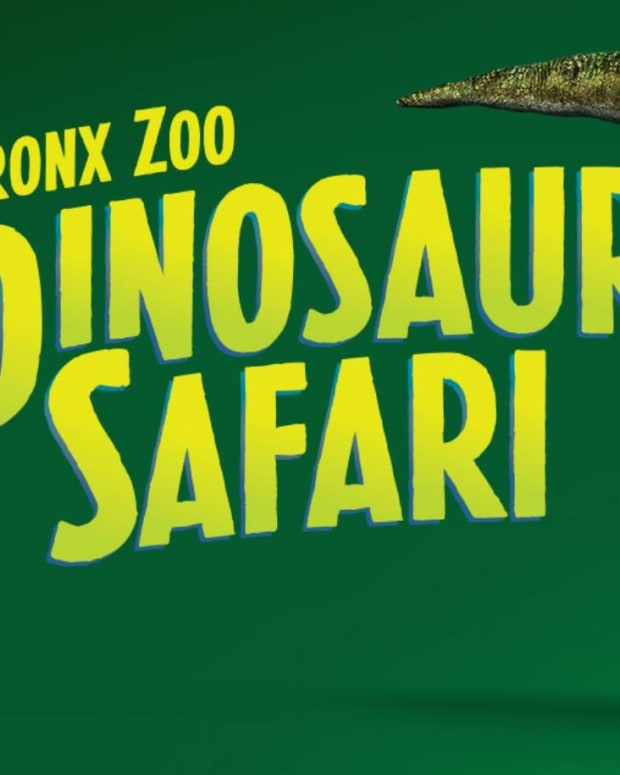 bronx zoo dinosaur safari