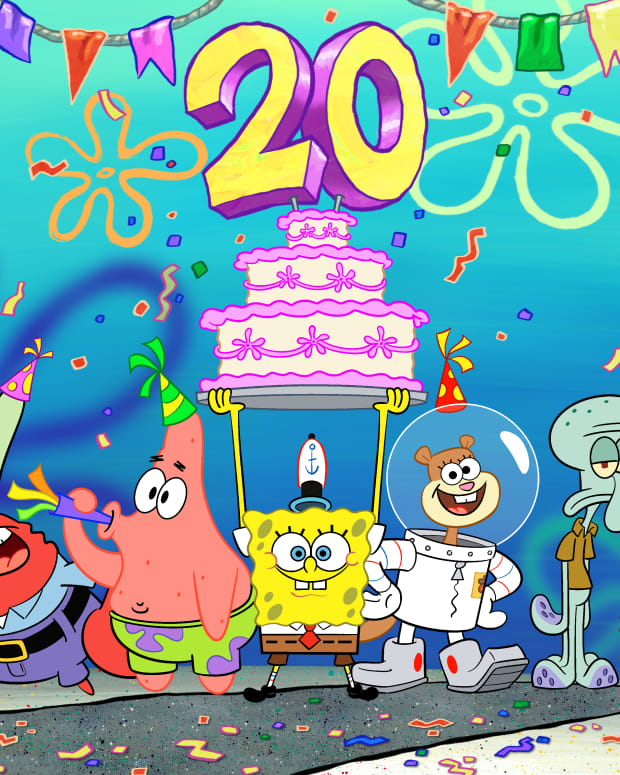 spongebob 20th anniversary