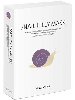 Skederm Snail Jelly Face Mask 10 for $12.99.jpg