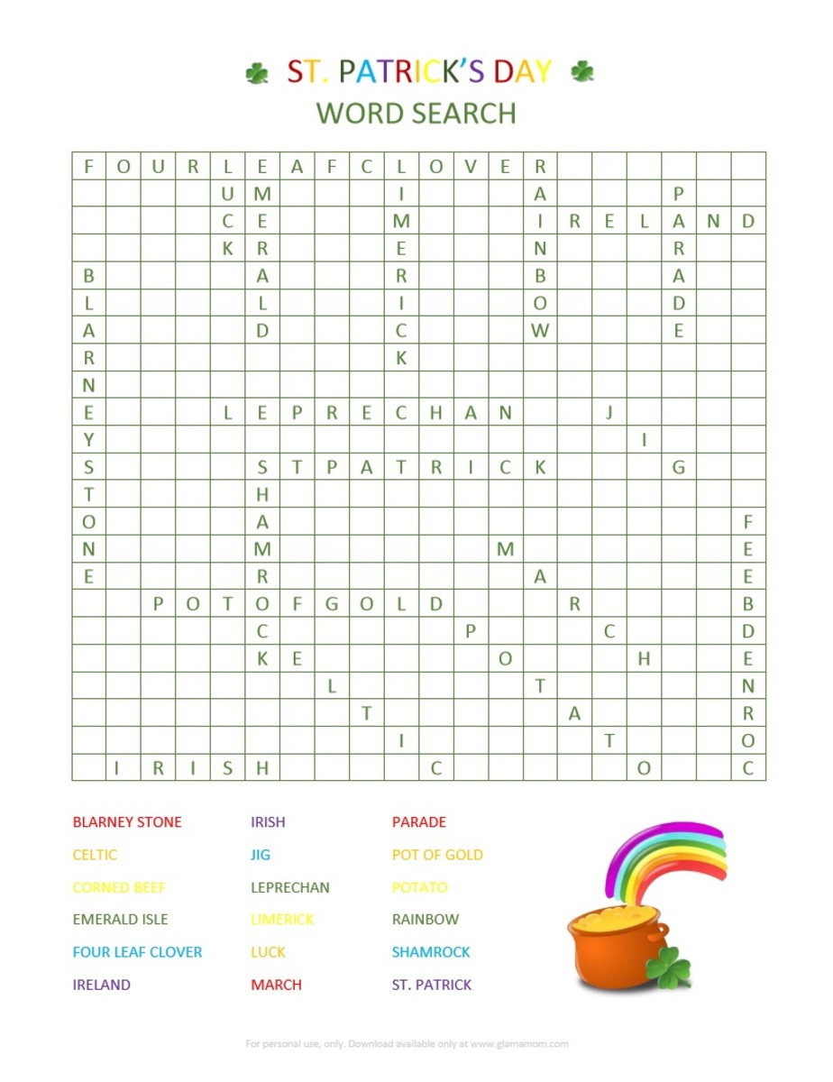 St. Patrick's Day Word Search Answer Key.jpg