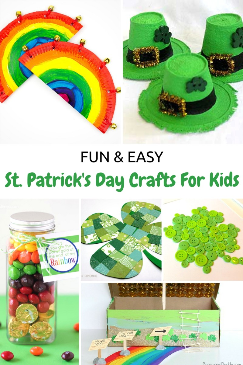 Fun Easy St Patrick S Day Crafts For Kids Glamamom