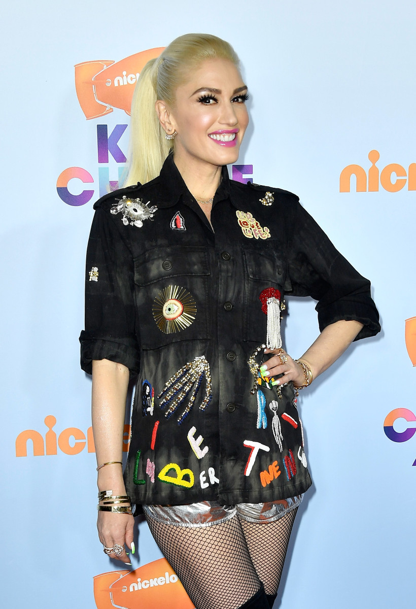 Three-time Glamamom Gwen Stefani. Photo Credit: Frazer Harrison/Getty Images