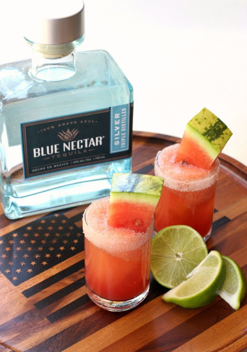 Watermelon Margarita Shooters from mantitlement.com