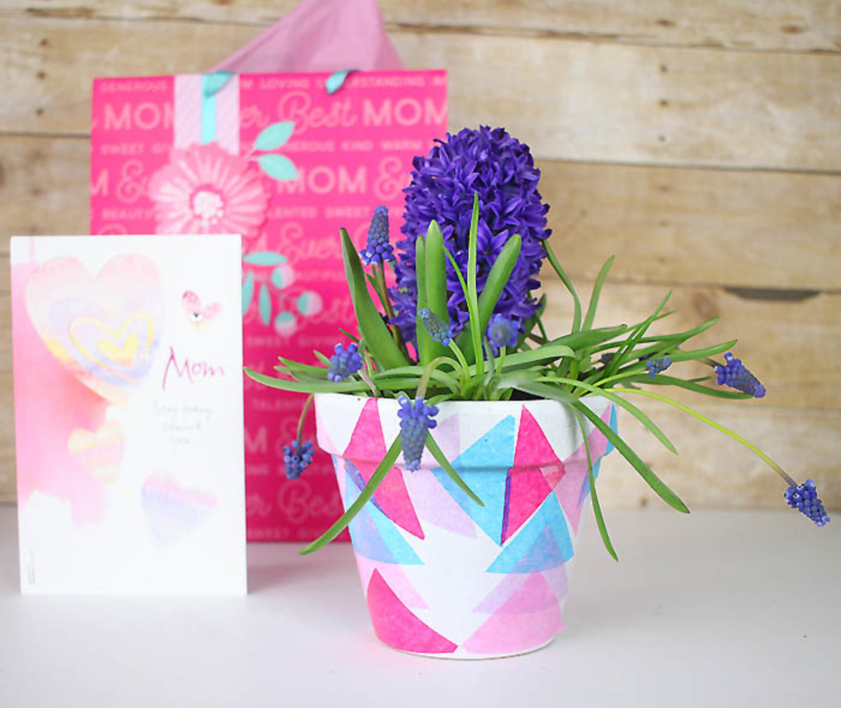 Decoupage Flower Pots DIY from gina-michele.com