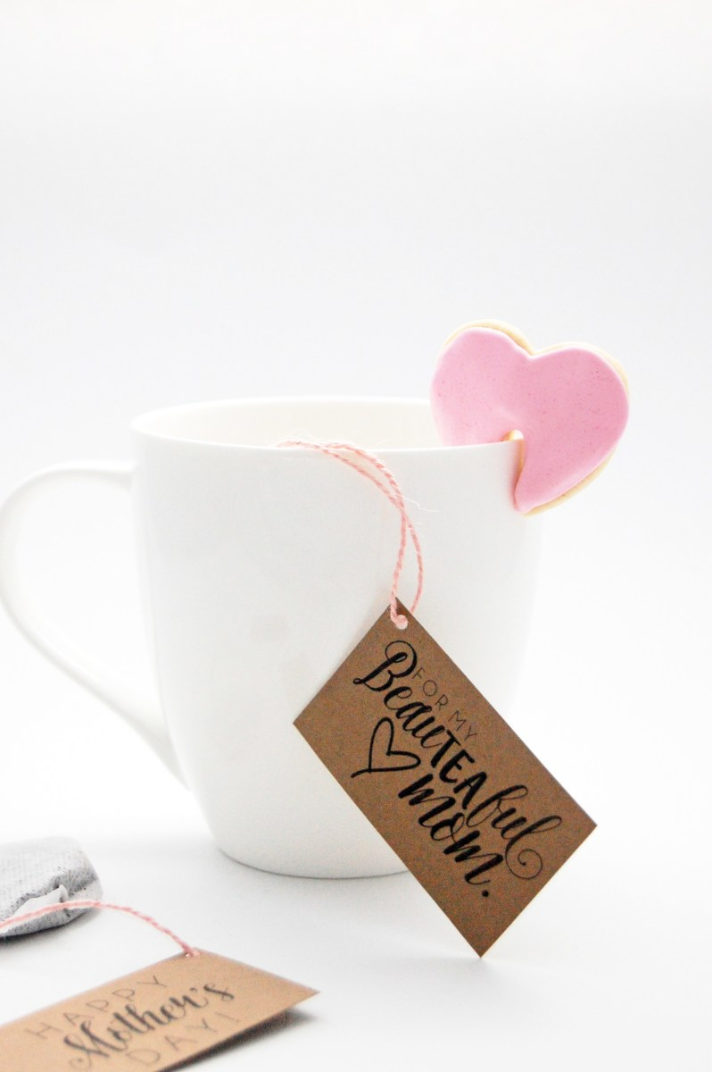 DIY Mother's Day Tea Bag Tags from thepartygirl.ca