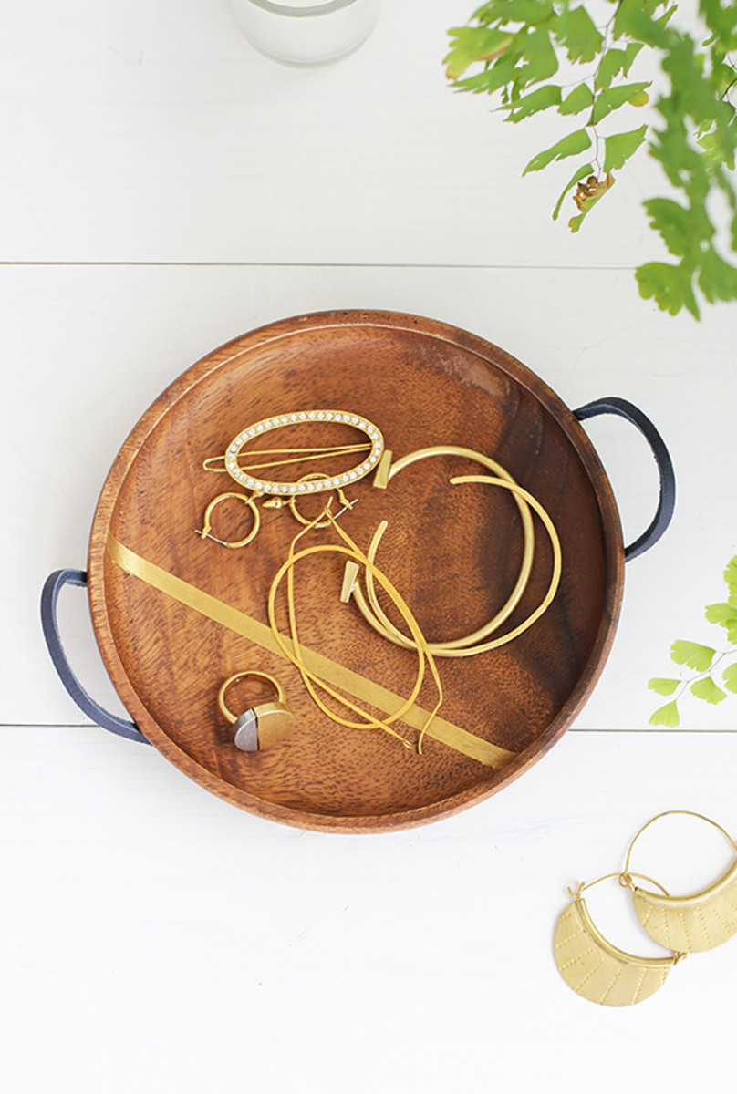 DIY Mother's Day Jewelry Dish from minted.com