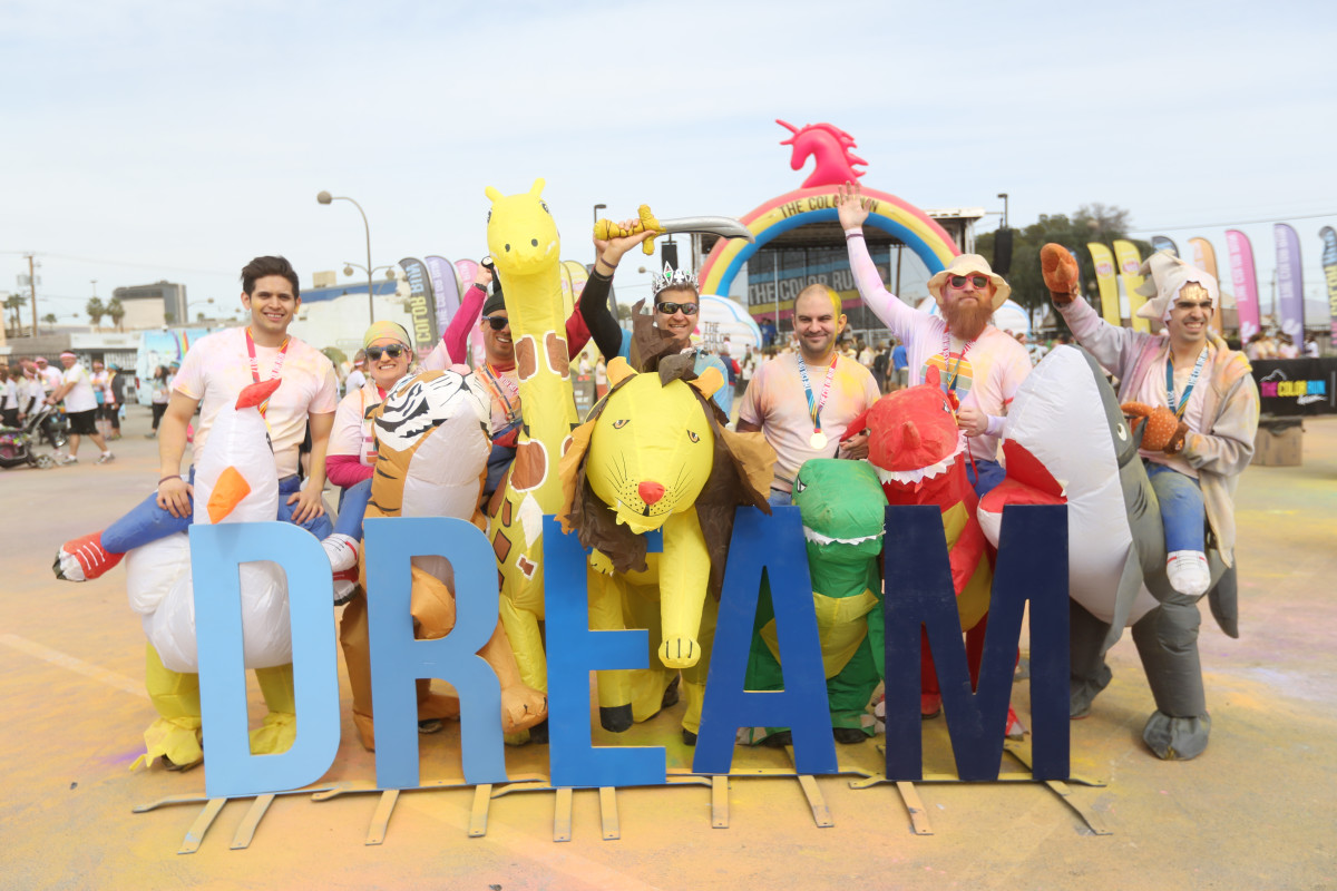 The Color Run Dream Tour Photo Op 2