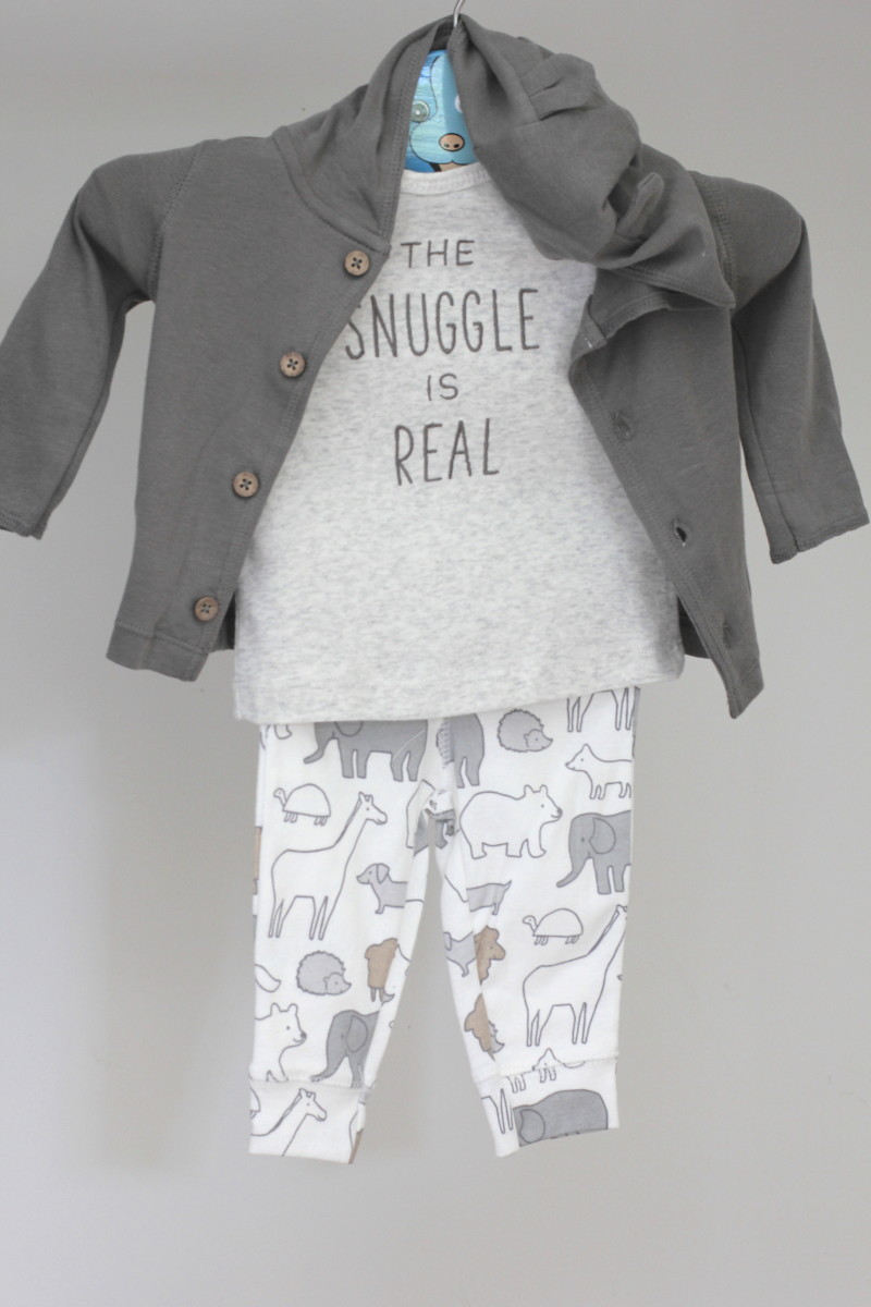carters baby soft outfit sets