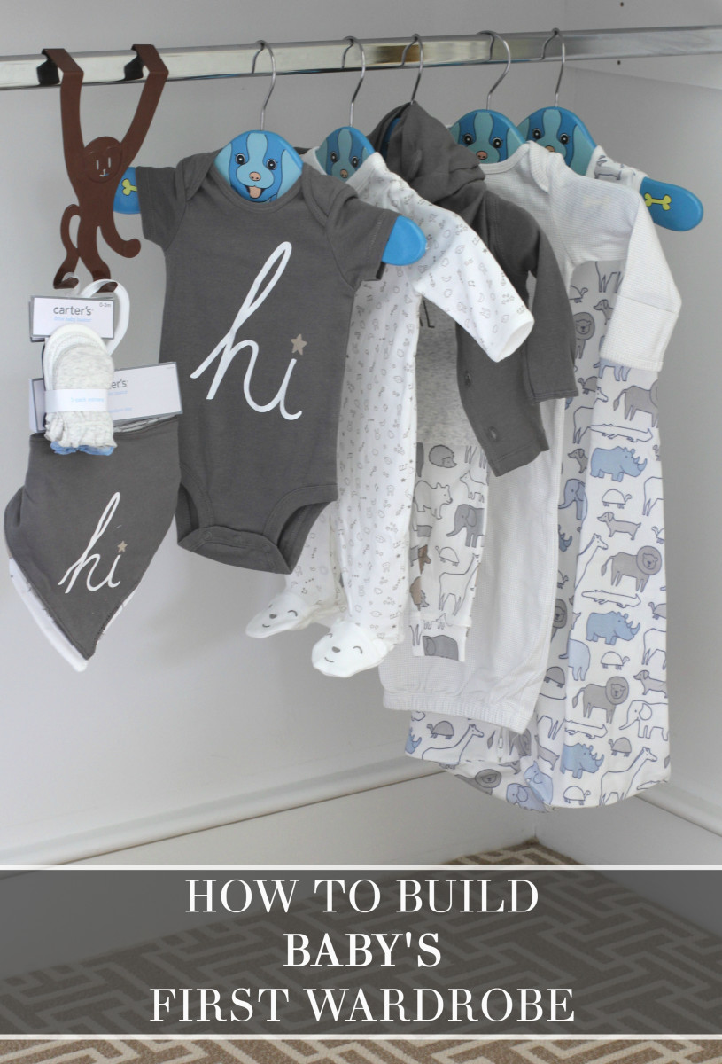 How to build a babys first wardrobe