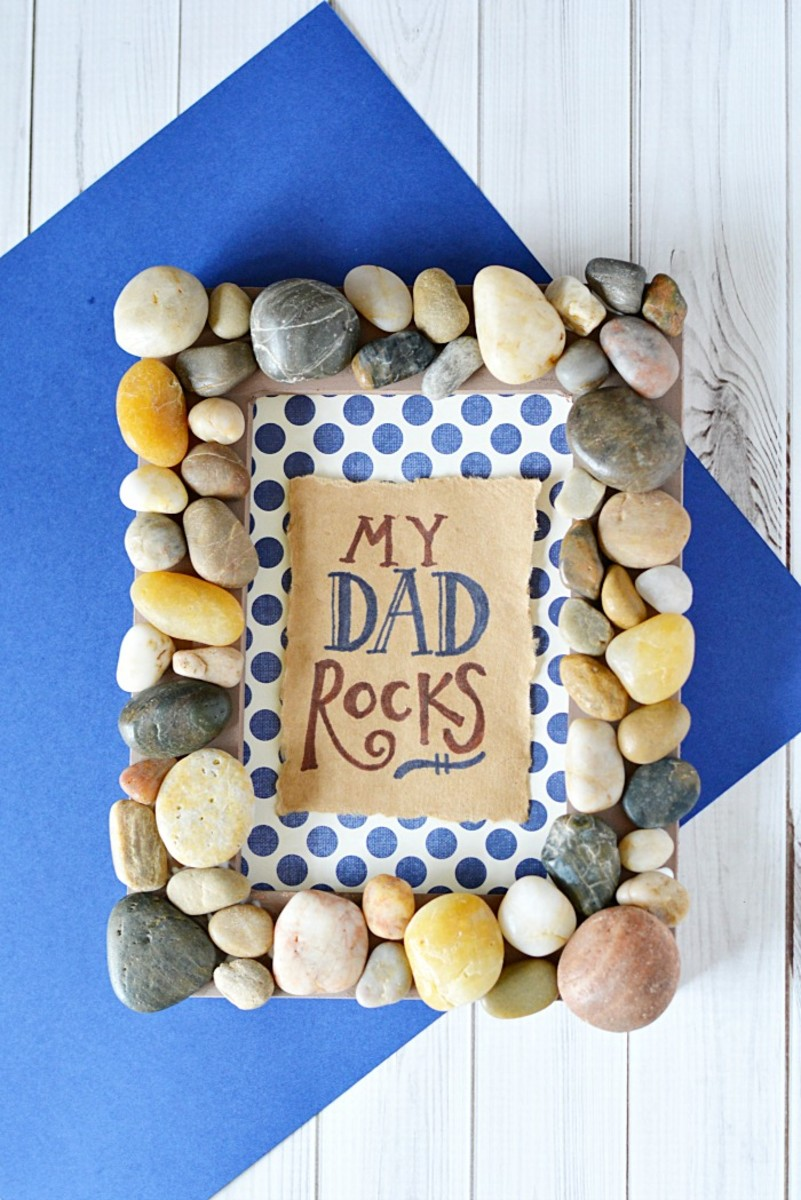 My Dad Rocks Frame from mommymoment.ca