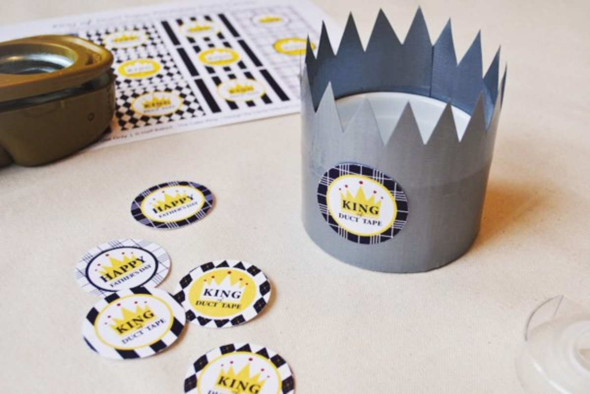 King of Duct Tape Wrappers from blog.hwtm.com
