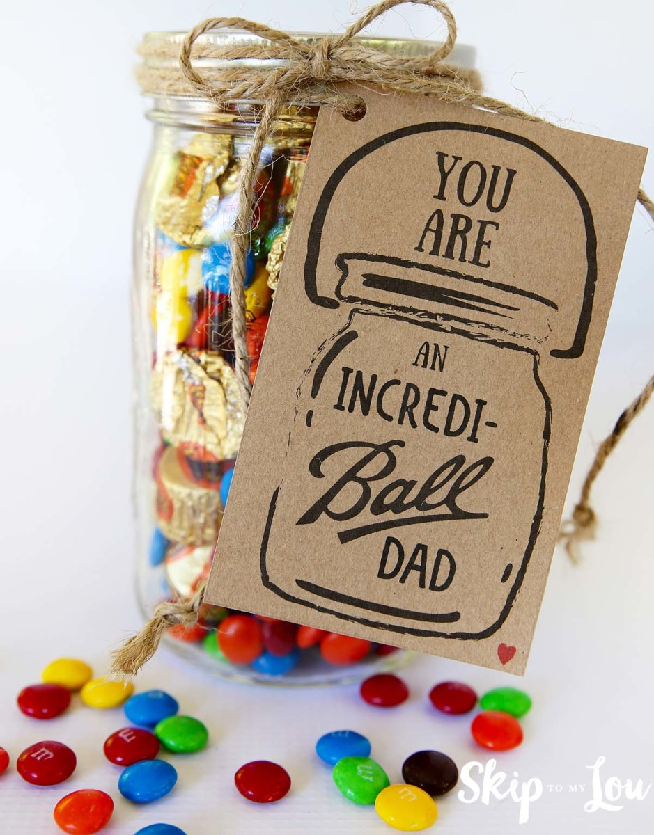 Incredi-ball Father's Day Gift Idea from skiptomylou.org