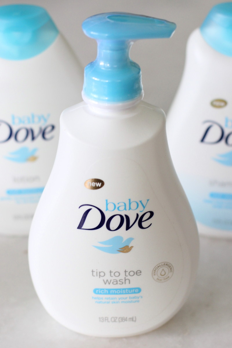 dove tip to toe wash