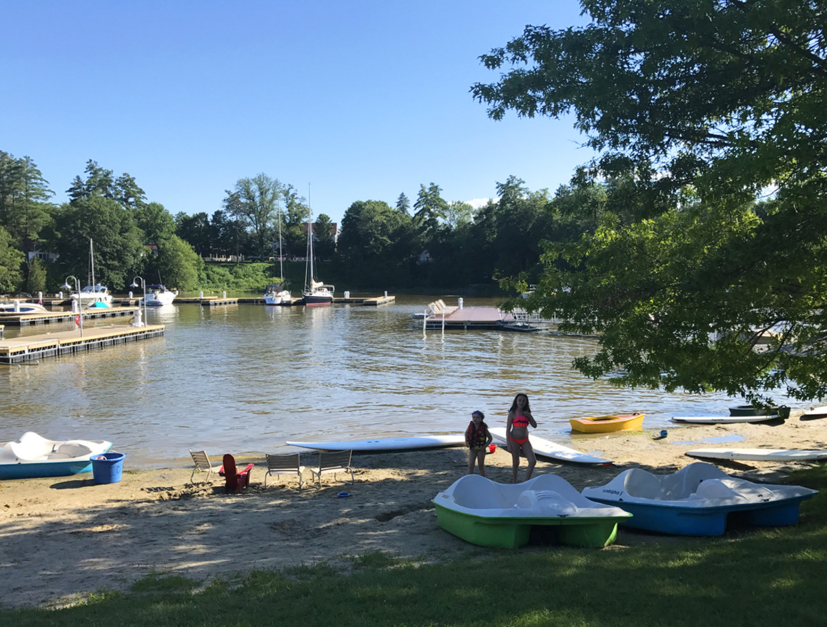 family friendly fun on Lake Champlain at Basin Harbor resort