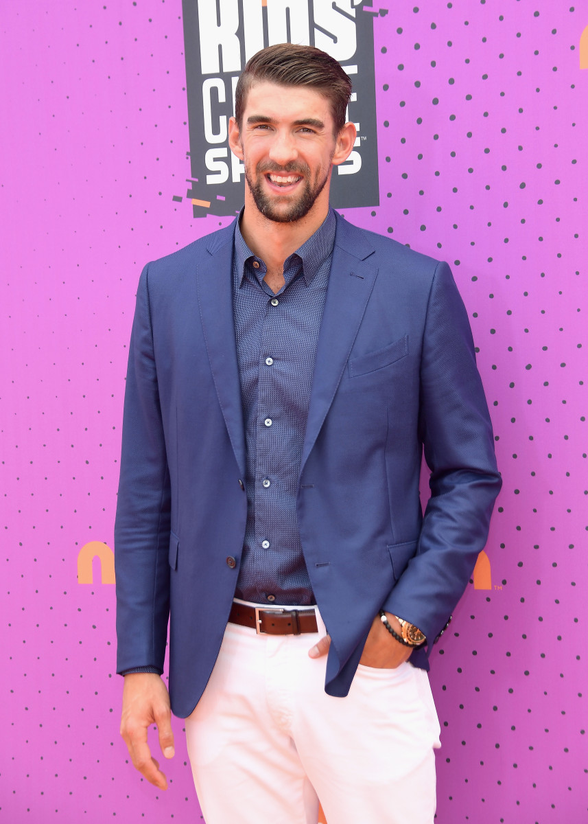 Honoree Michael Phelps. Photo by Matt Winkelmeyer/Getty Images