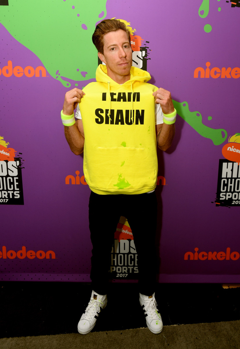 Professional snowboarder Shaun White. Photo by Emma McIntyre/KCASports2017/Getty Images for Nickelodeon
