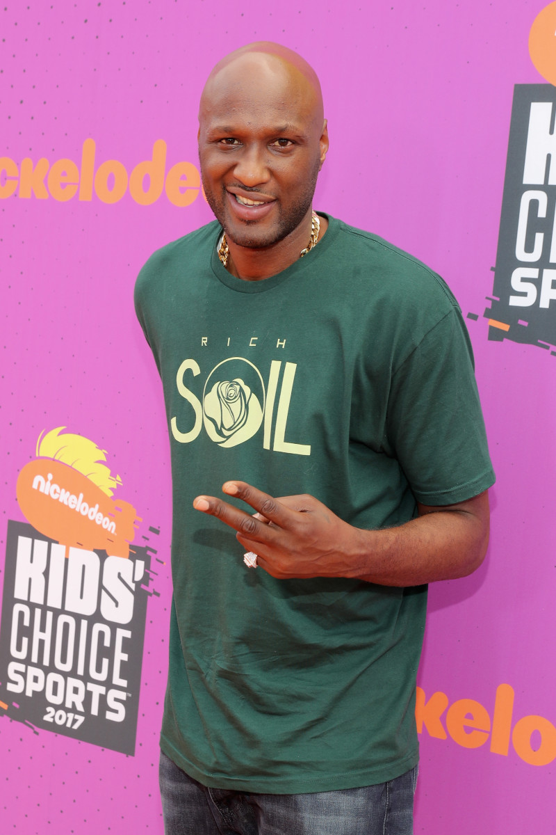 Former NBA player Lamar Odom. Photo by Neilson Barnard/Getty Images