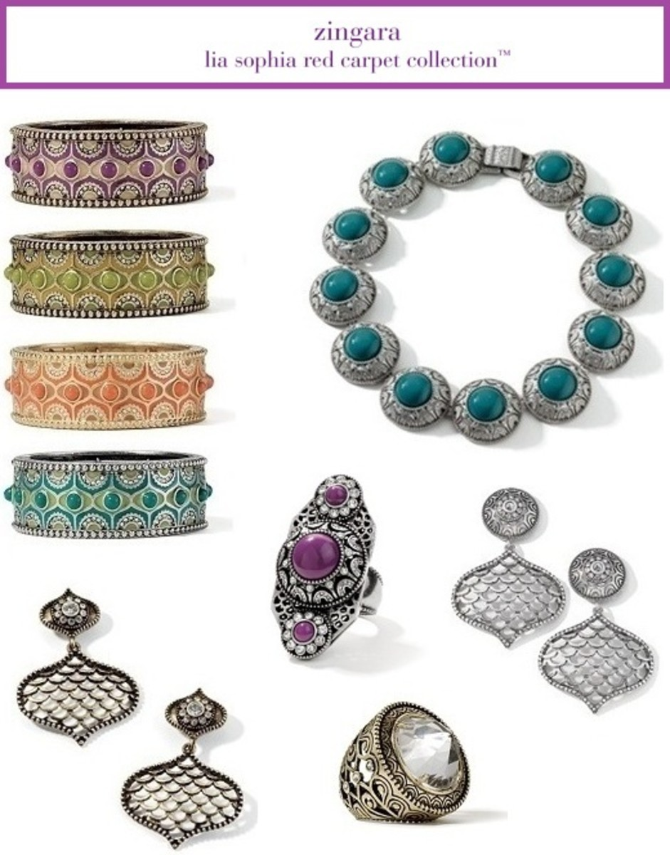 lia sophia zingara collection