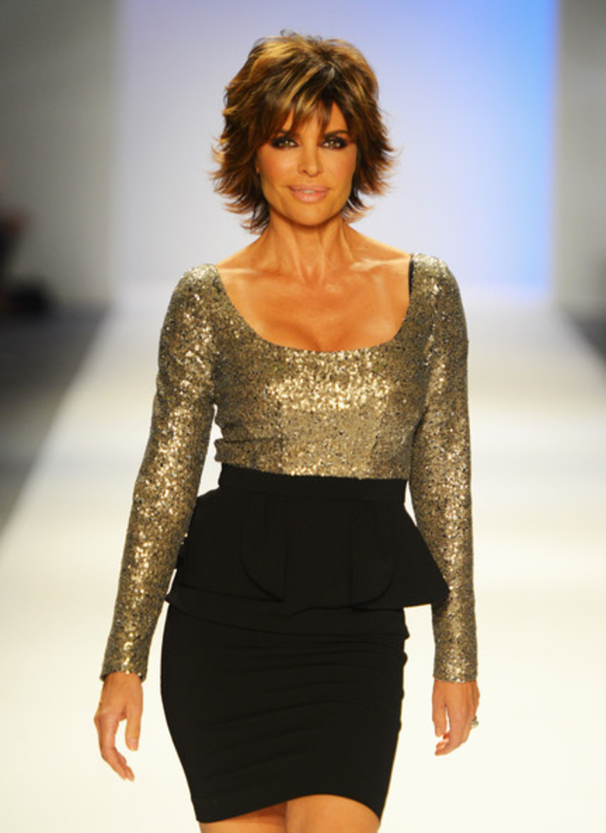 Lisa Rinna, Strut The Fashionable Moms Show