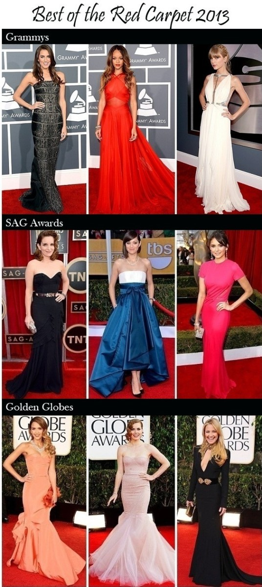 Best Dressed Awards Season 2013
