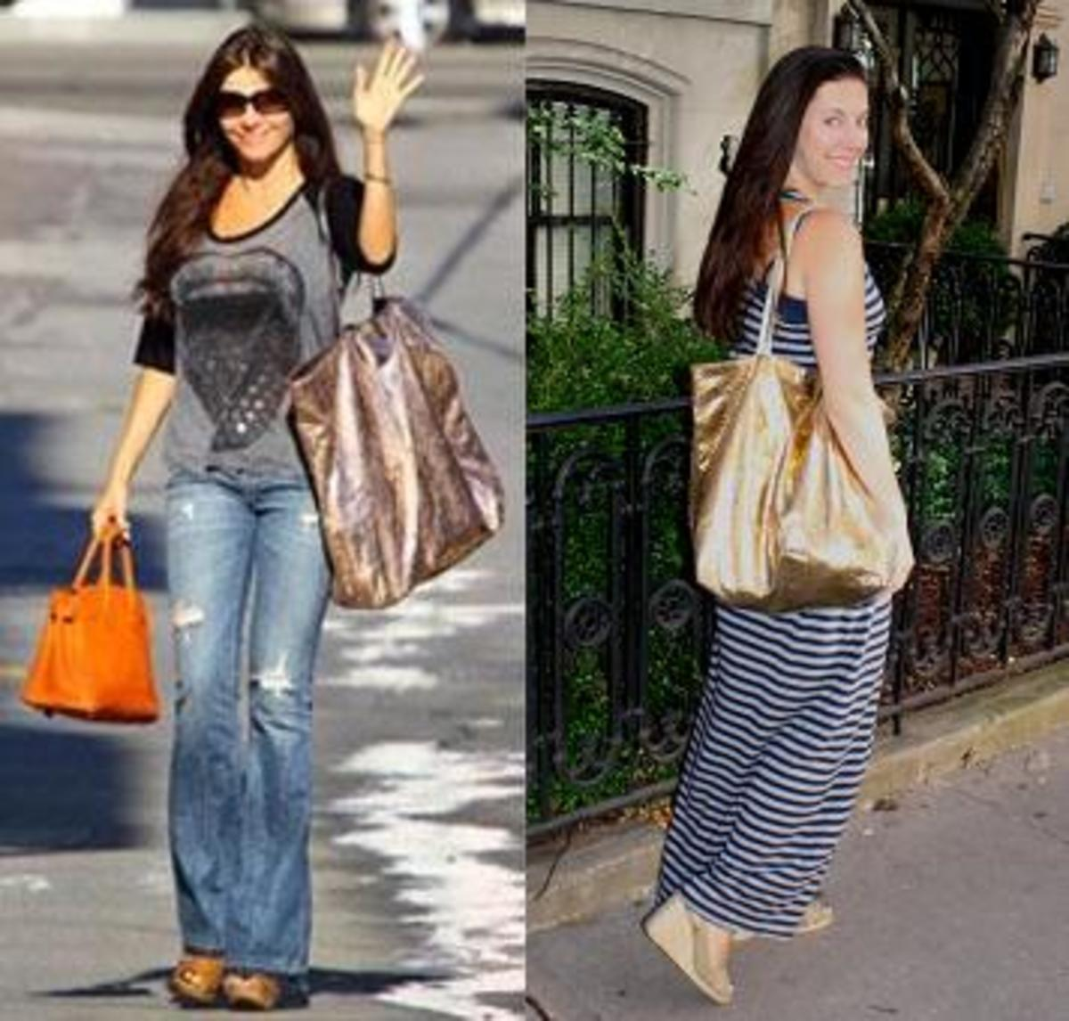 Who Wore It Best Carlos Falchi Jill Seiman Sofia Vergara