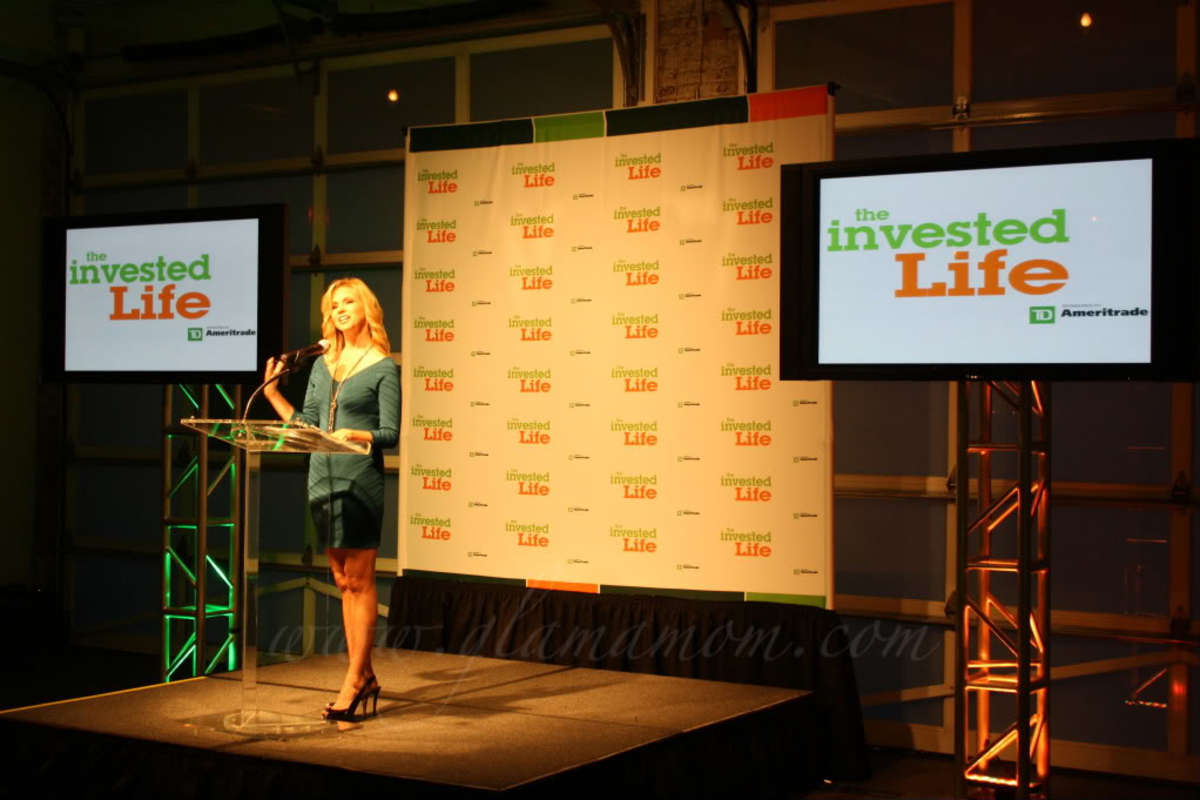 "Suzanne Sena, Host of ""The Invested Life"""