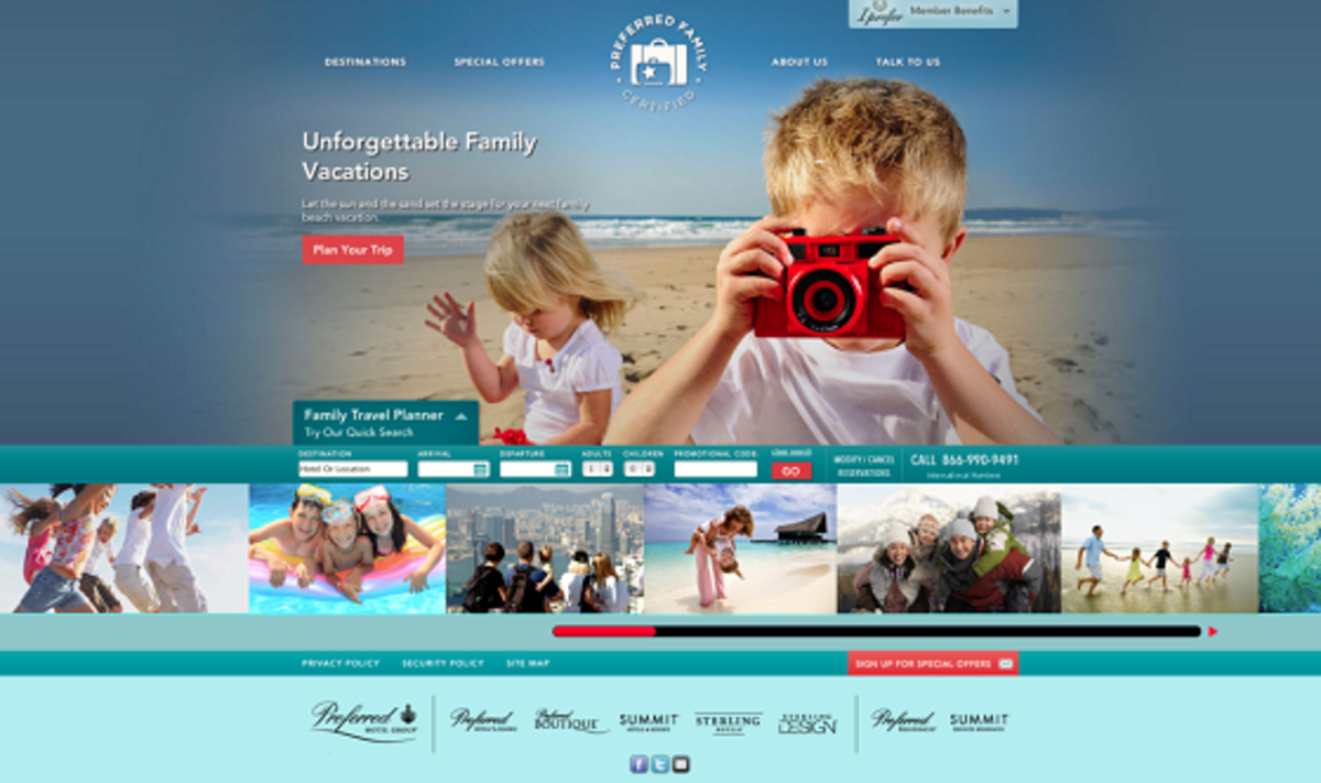 Preferred Family Website