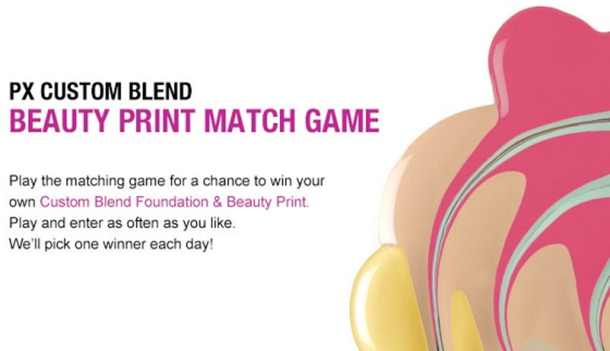 Prescriptives Beauty Print Matching Game