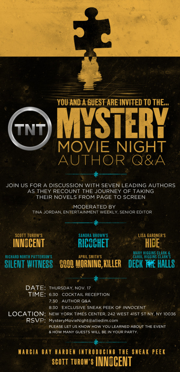 TNT's Mystery Movie Night Author Q&A