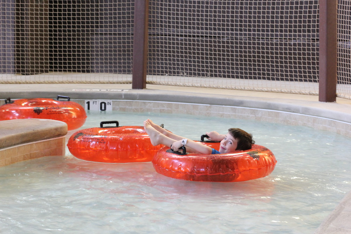 Kalahari Lazy River Kids