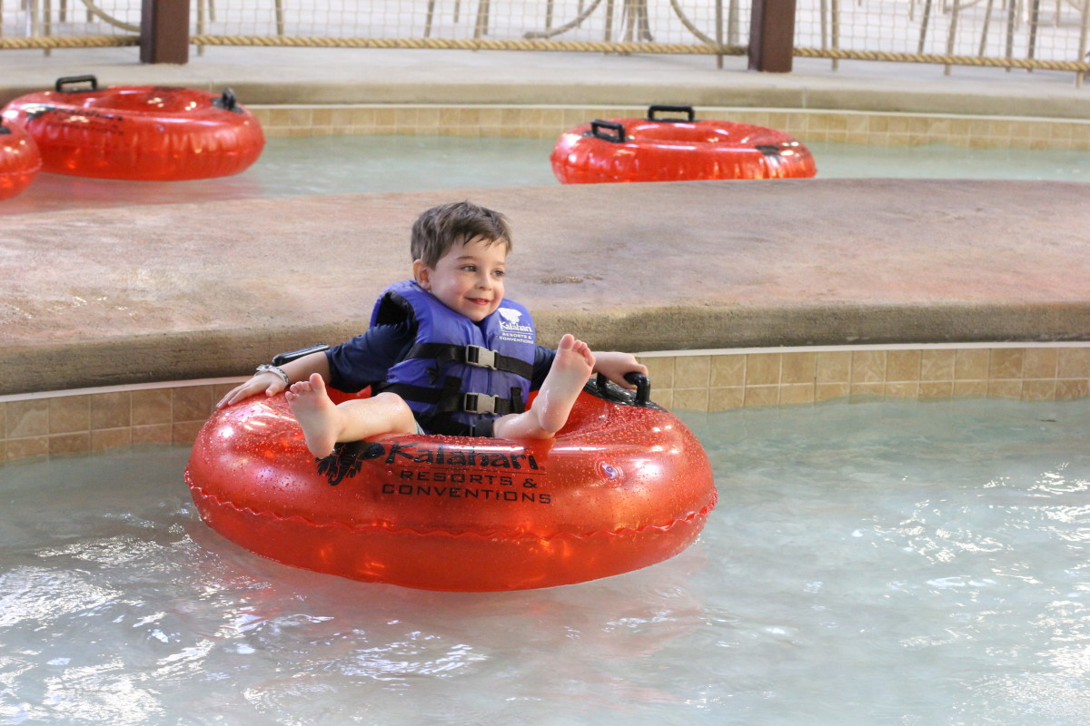 Kalahari Kids Lazy River