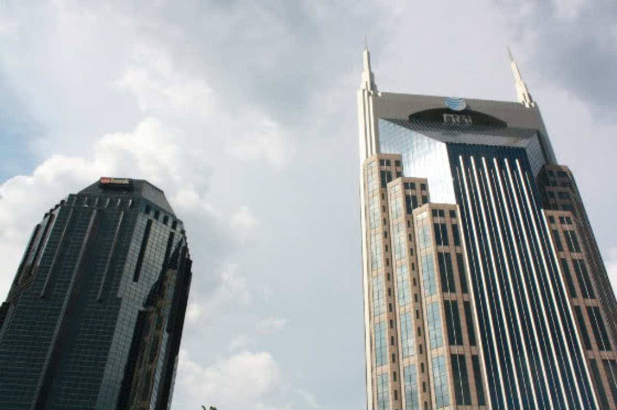 R2D2 & Batman Buildings, Nashville