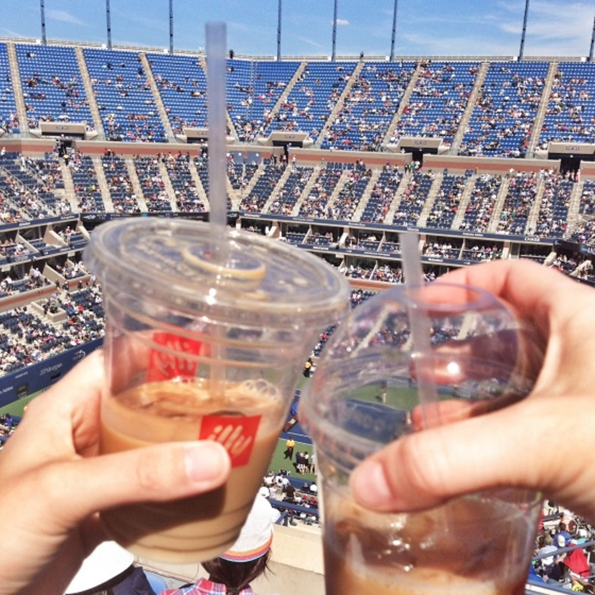 Drinks at the US Open