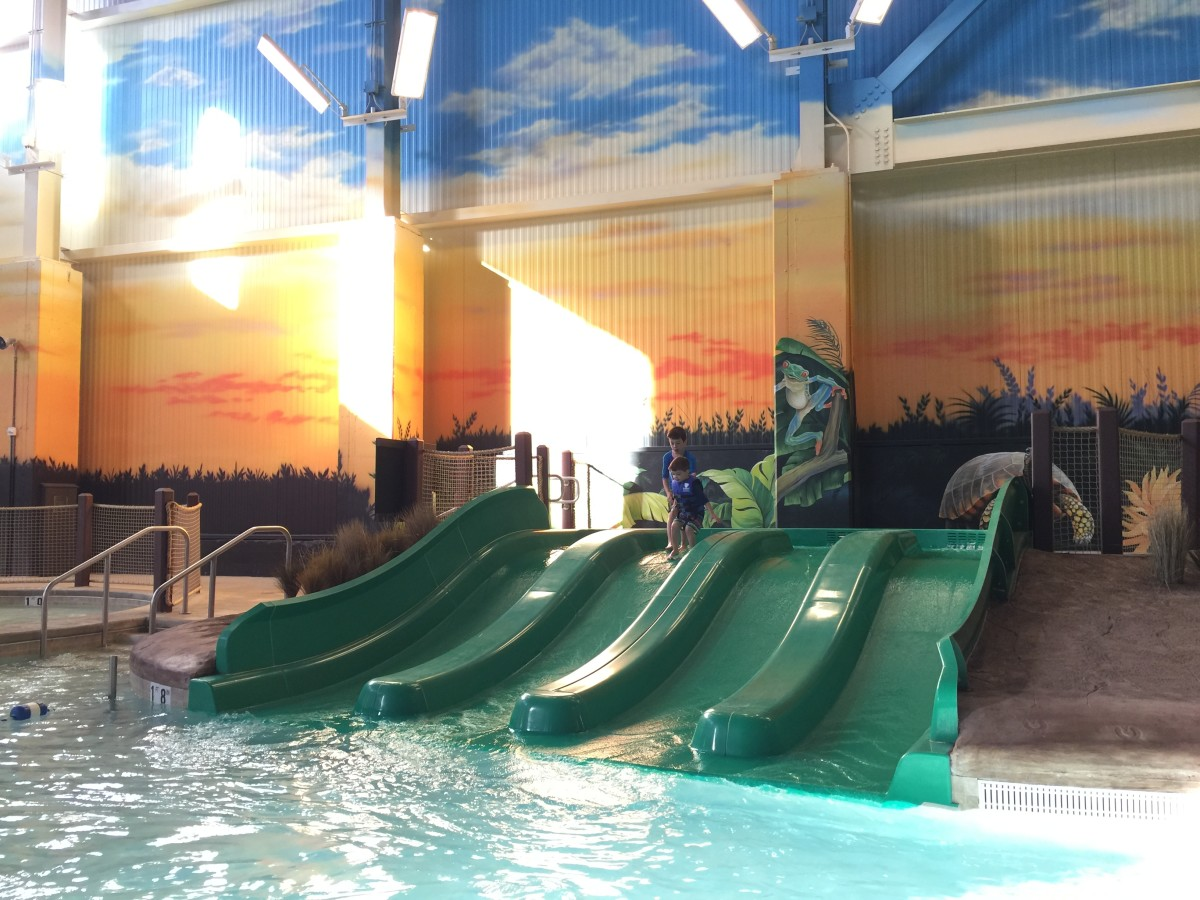 Kalahari Kids Waterslides